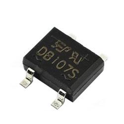 Diode cầu 1A 1000V DB107S SMD
