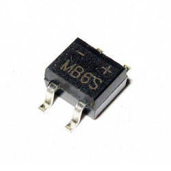 Diode cầu 0.5A 600V MB6S