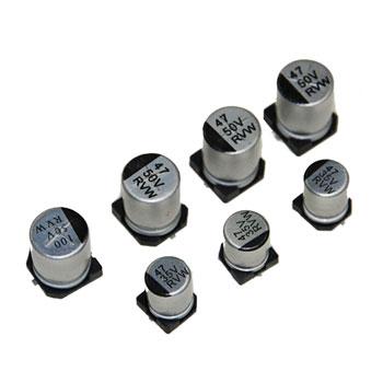 Tụ nhôm 10uF 16V 4 x 5 mm