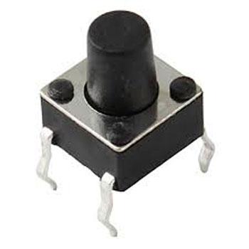 Nút Nhấn 4 Chân 6x6x7.5MM DIP
