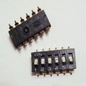 Công Tắc Bit 6P SMD