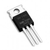 MOSFET Kênh N IRF740 - to220 - B7H12