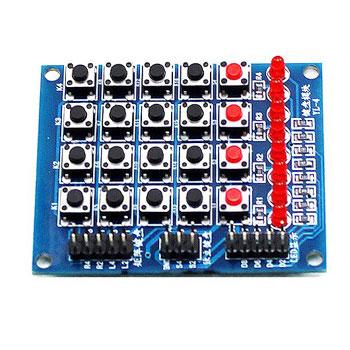 Keypad 4x5 DIP