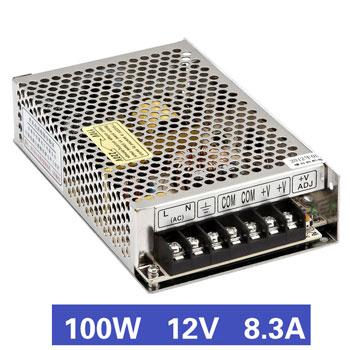 Nguồn tổ ong 100W, Nguồn 12V8.8A, MS-100-12, Nguồn xung 12V8.8A, Nguồn tổ ong 12V8.8A, Nguồn xung 12V 8.8A, Nguồn tổ ong 12V 8.8A