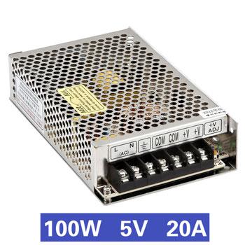 Nguồn tổ ong 100W 5V20A MS-100-5