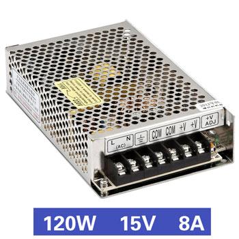 Nguồn tổ ong 120W 15V8A MS-120-15