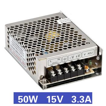 Nguồn tổ ong 50W 15V3.3A MS-50-15