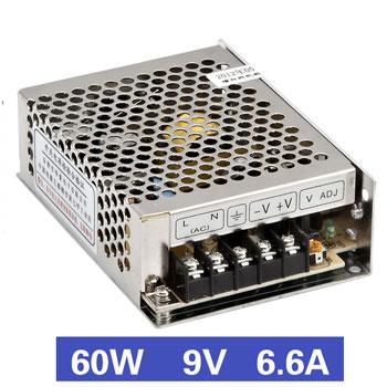 Nguồn tổ ong 60W 9V6.6A MS-60-9