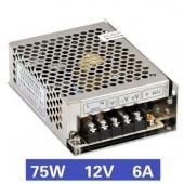Nguồn tổ ong 75W 12V6A MS-75-12
