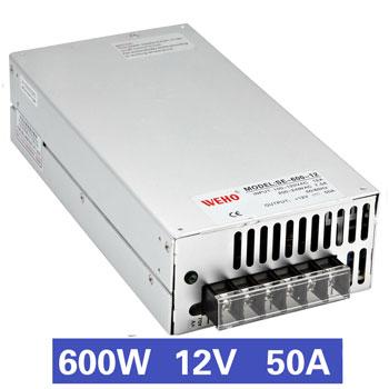 Nguồn tổ ong 600W 12V50A SE-600-12