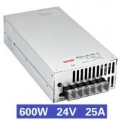 Nguồn tổ ong 600W 24V25A SE-600-24