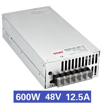 Nguồn tổ ong 600W 48V12.5A SE-600-48