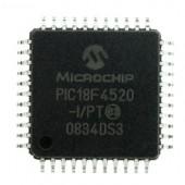 PIC18F4520-I/PT TQFP44