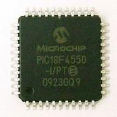 PIC18F4550-I/PT TQFP44