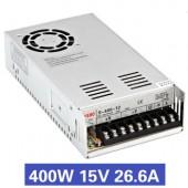 Nguồn tổ ong 400W 15V26.6A S-400-15