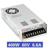 Nguồn tổ ong 400W 60V6.6A S-400-60