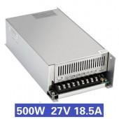 Nguồn tổ ong 500W 27V18.5A S-500-27