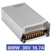 Nguồn tổ ong 600W 36V16.7A S-600-36