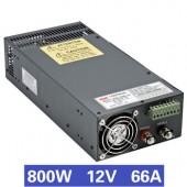 Nguồn tổ ong 800W 12V66A SCN-800-12V