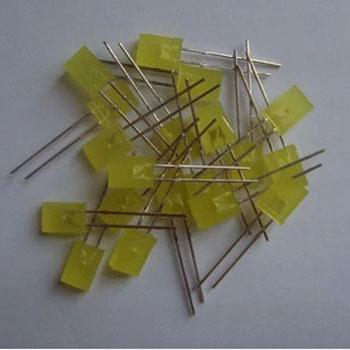 Led Dẹp 2x5x7MM ( Màu Vàng)