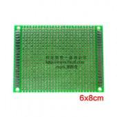 PCB 6x6CM FR4 1.6MM
