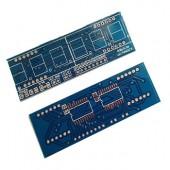 PCB 74HC573 + LED 7