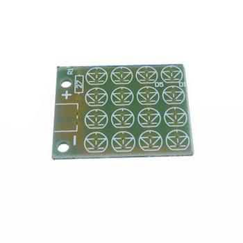 PCB LED 5MM 4x4