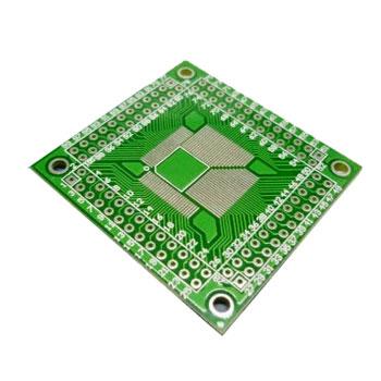 PCB TQFP64-TQFP100 0.5MM